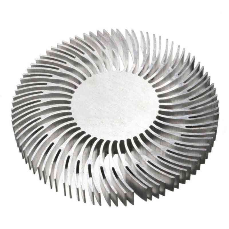 Round Spiral Aluminum Heatsink Cooler Led Heat Sink Radiator 90*10mm For 10w