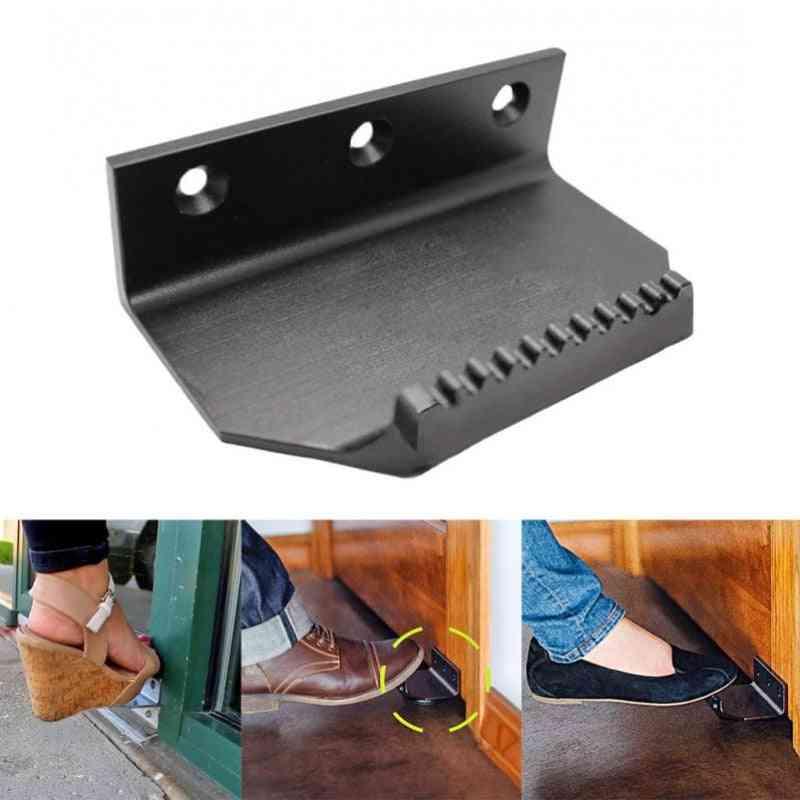 Touchless Door Opener, Stainless Steel Foot Handle