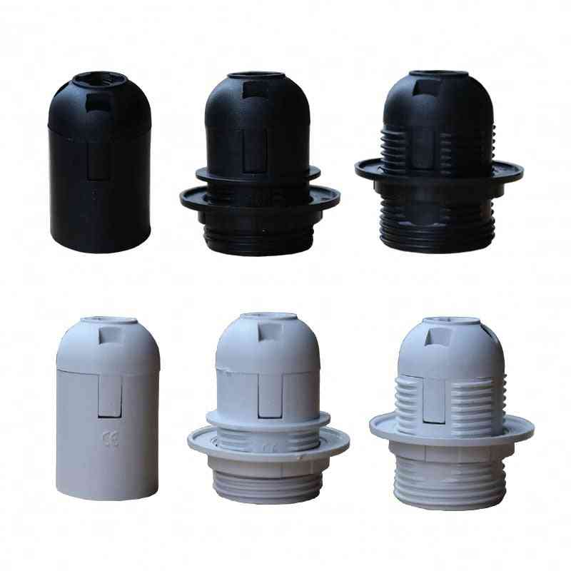 1pcs High Quality White/black 2a 250v E27 / E14 Card-type Lamp-holder Ce Certification, E14/e27 Socket