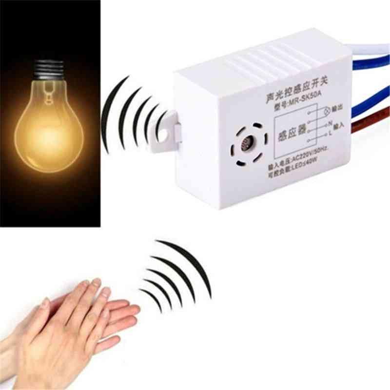 220v Sound Voice Sensor-intelligent Auto On/off Light Switch