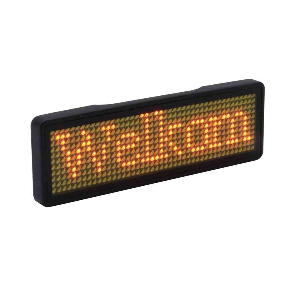 Bluetooth App Control - Led Name Badge