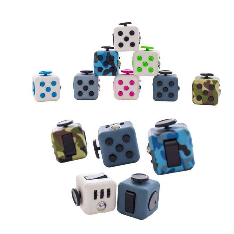 Decompression Dice Ring Characteristic Office Toy - Pressure Resistance Unlimited Magics Square