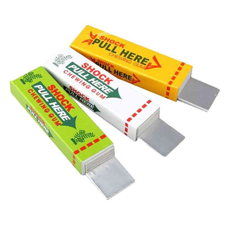 Electric Shock Pull Head Chewing Gum Gag- Novelty Item Toy