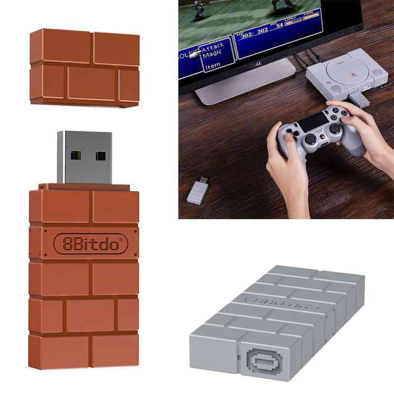 8 Bitdo Usb Wireless Receiver And Mega Drive Converter