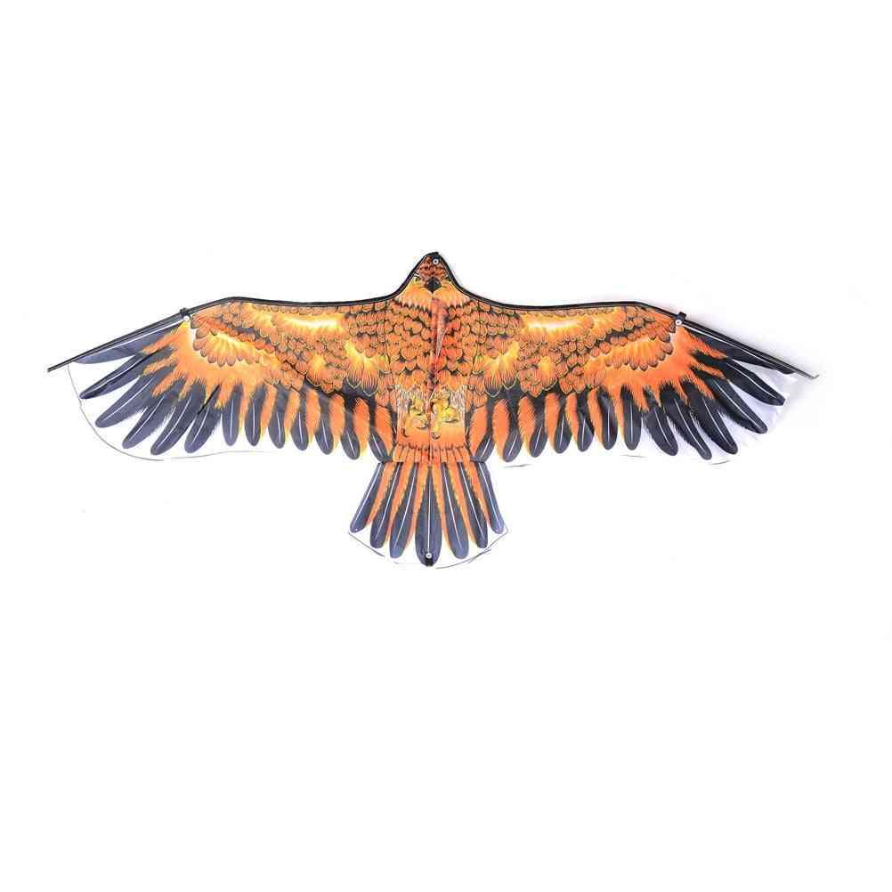 Large Flat Eagle Bird Kite - Outdoor Toy