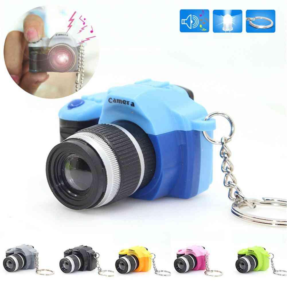 Digital Camera Design - Led Flashing Keychain