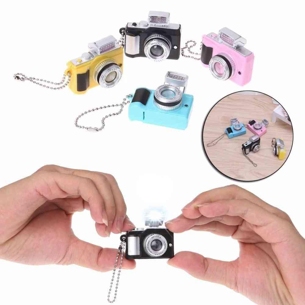 Camera Led Flashlight Key Chain With Sound