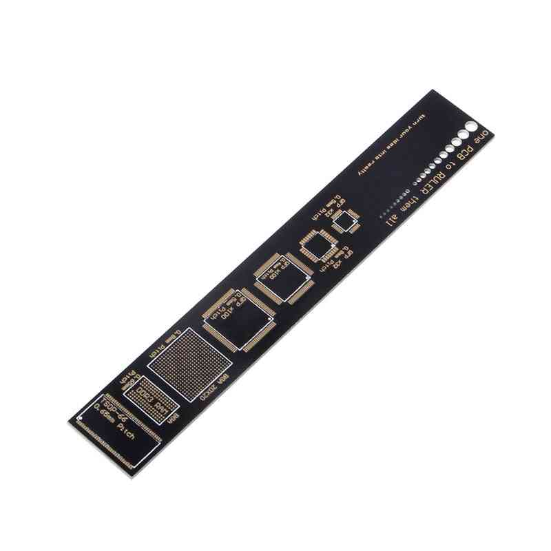 Pcb Reference Ruler Pcb Packaging Units For Electronic Engineers