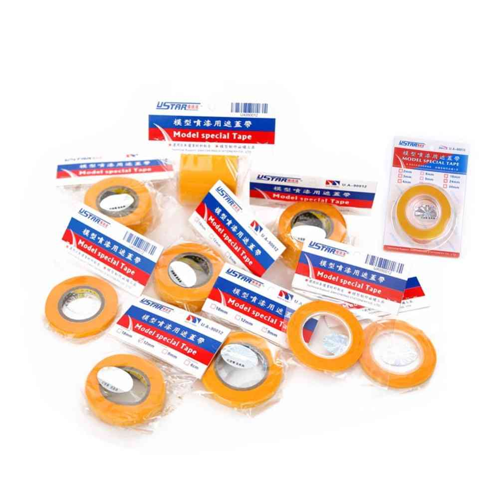 Special Masking Tape 2mm-50mm, Hobby Painting Tools Accessory
