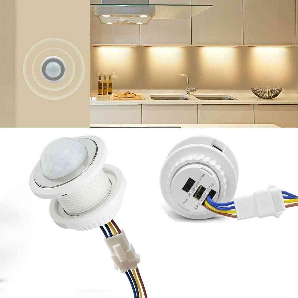 Pir Infrared Body Motion Sensor And Control Switch -with Automatic Light