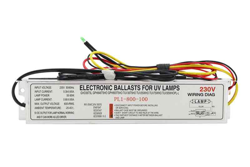 Dedicated Electronic Ballast With Dc5v Output, For Uv Sterilization Lamp