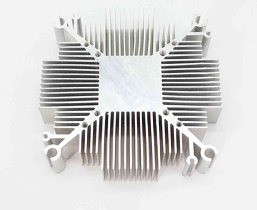Pure Aluminium Cob Led Heatsink- Multichip  With 34*34mm