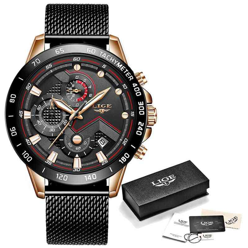 Fashion Mens Luxury Quartz Watch