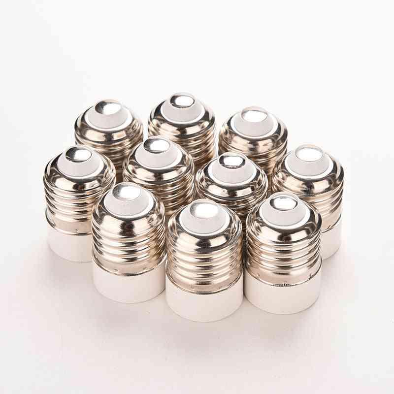 Light Bulb Base Type Adapter Fireproof Material E27 To E14 Lamp Holder Converter