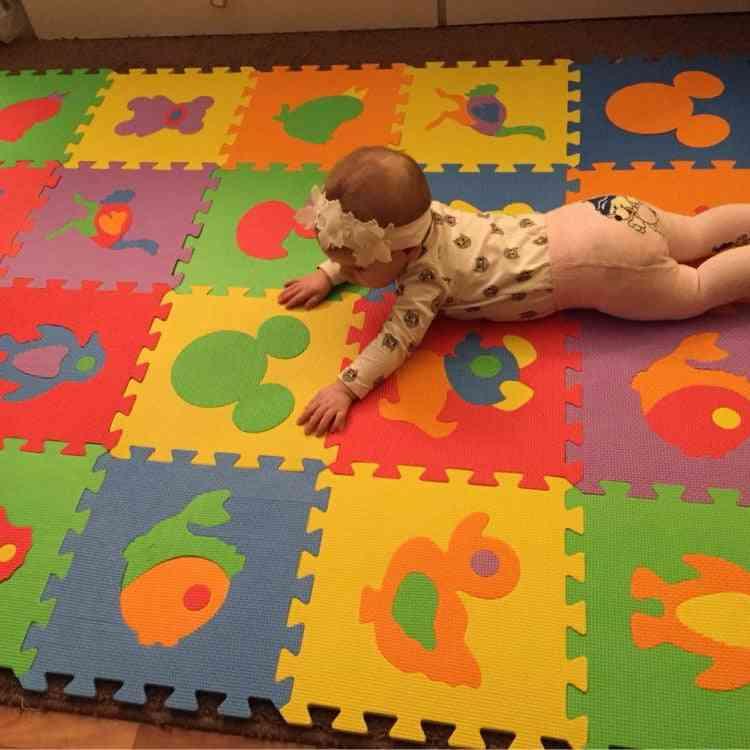 Baby Puzzle Mat-eva Foam Mosaic Carpet