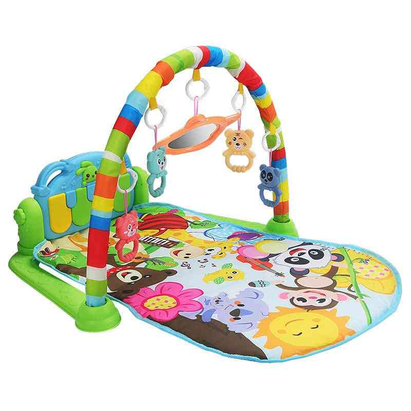 Baby Music Carpet- Game Pad Puzzle With Piano Keyboard Toy