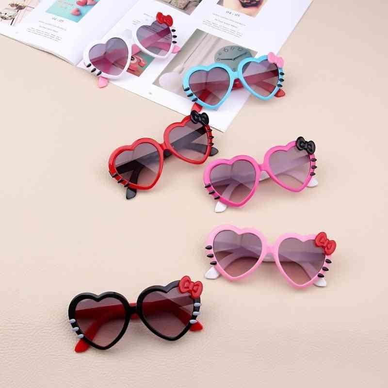Kids Heart Sunglasses -lovely Glasses For And