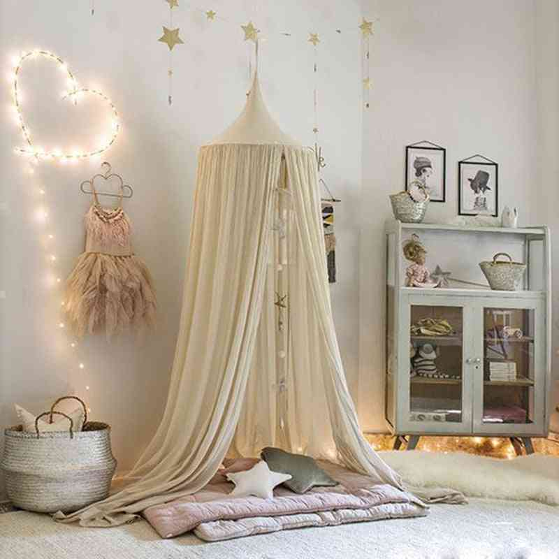 Canopy Bed Curtain Baby Hanging Crib - Play House Tents
