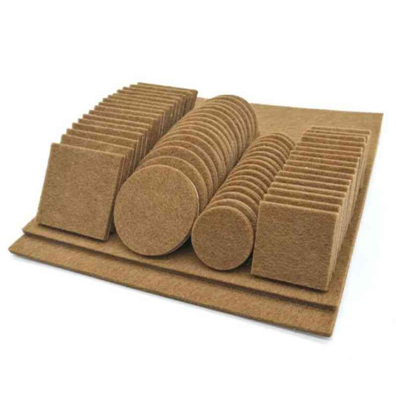 Self- Adhesive Felt Floor Protector Pads For Furniture Chair And Table Leg