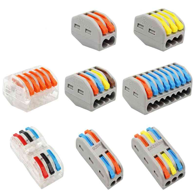 Wire-connector Quick-terminal Block Plug-adapter