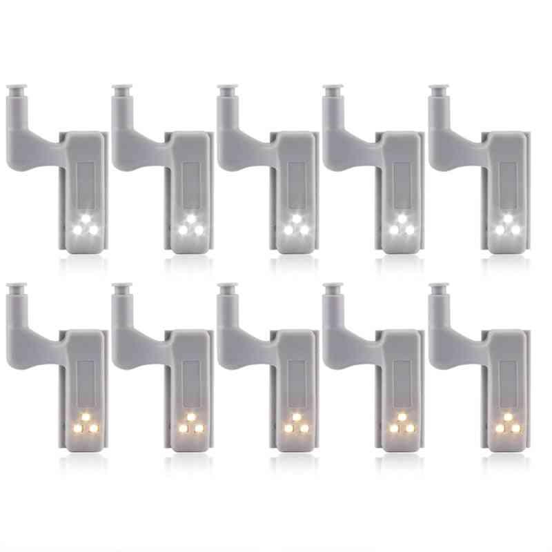 Universal Led Under Cabinet Light - Cupboard Inner Hinge Lamp Closet Wardrobe Sensor