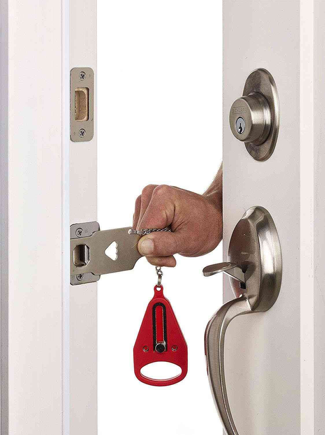 Metal Portable Safety Door Lock Replaces For Compatible