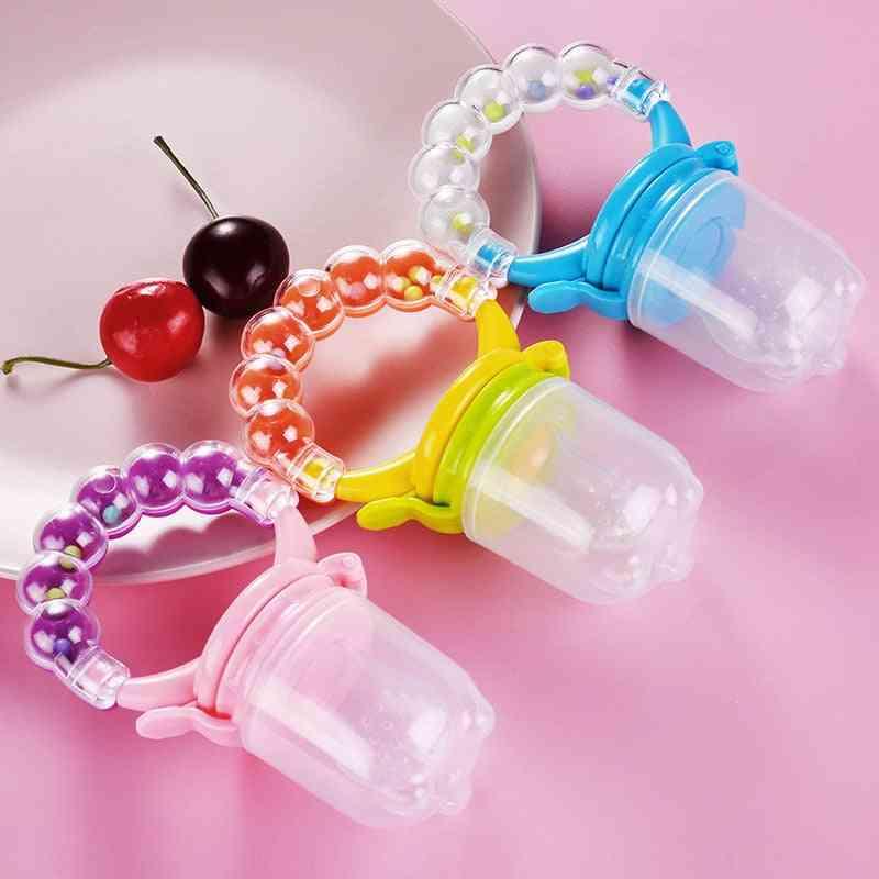 Newborn Baby Fruit Teether Nipple, Food Bite Pacifier - Safe Feeder Oral Care