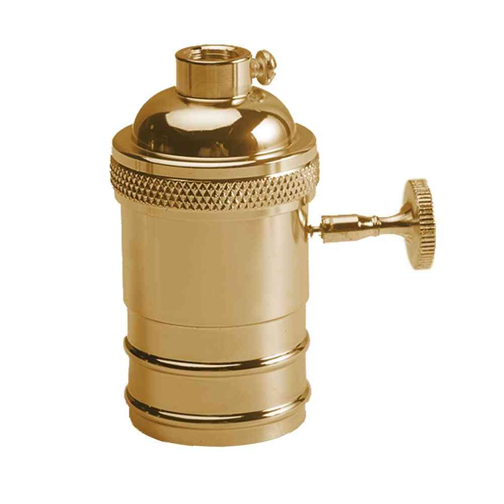 E26/e27  Standard Base-vintage Lamp Socket, Bulb Holder