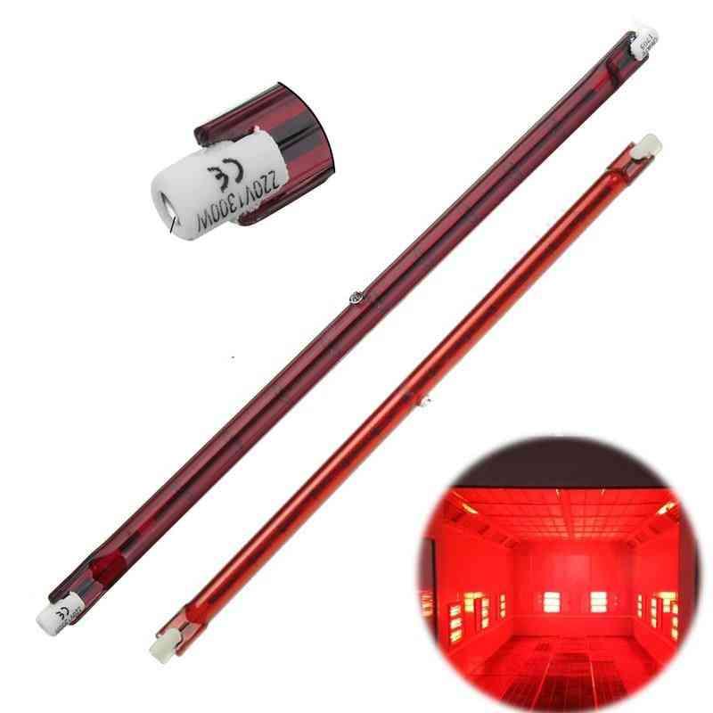 1 Pc/254mm Ac 1300w Halogen Quartz Ruby, R7s Infra-red Heater Bar Tube Pipe Heat Lamp