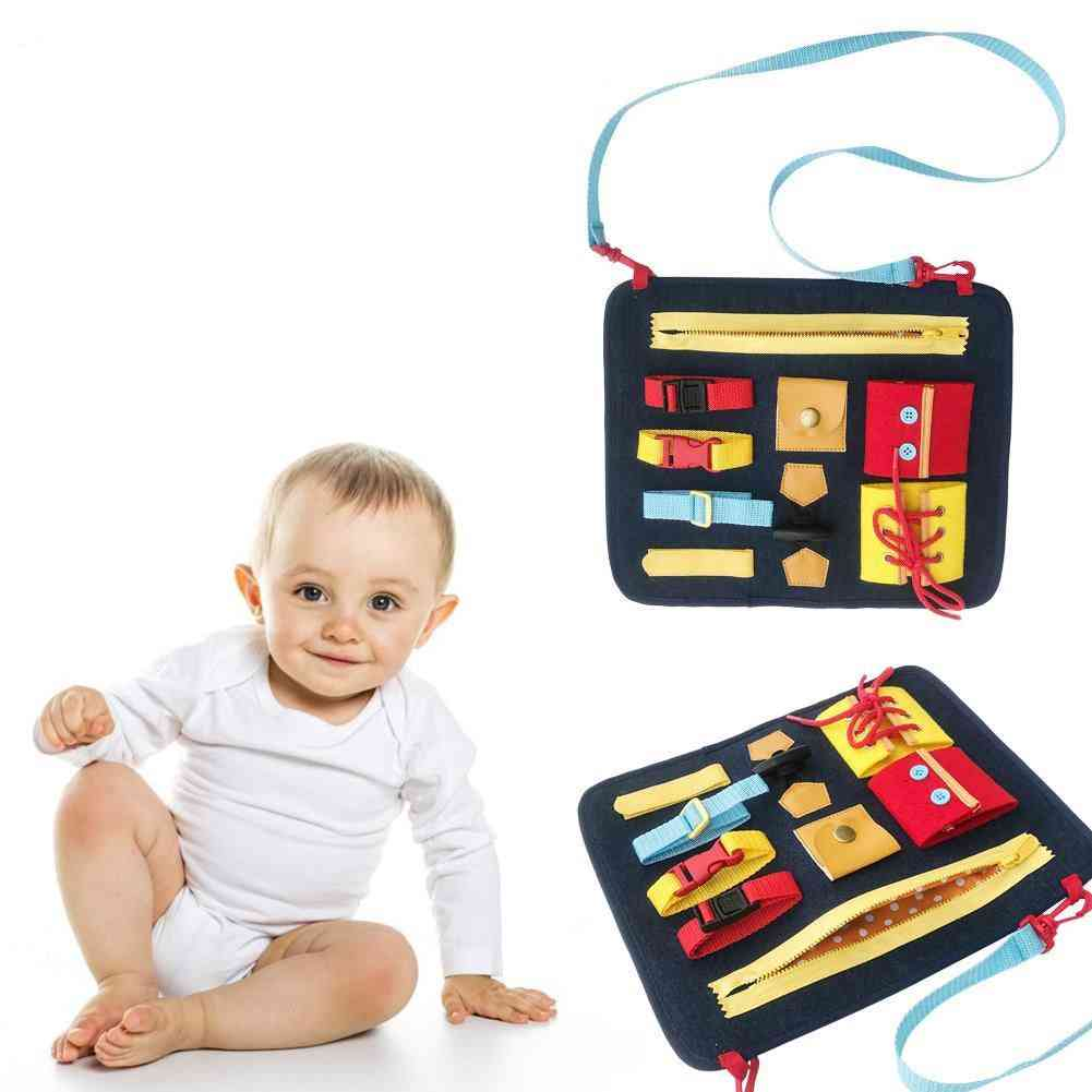 Basic Skills Teaching Aids - Board Activity Educational Toy