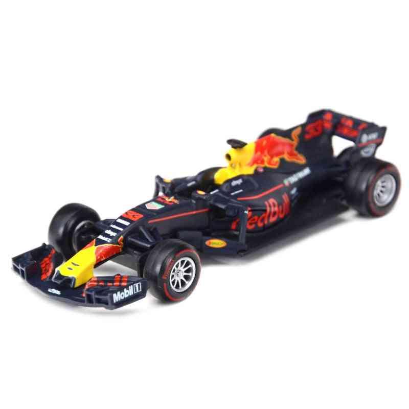 1:43-f1 Racing Formula Car, Diecast Alloy Model