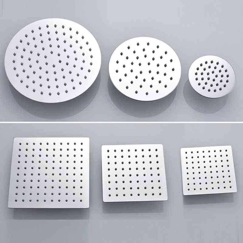 Stainless Square And Round Top Shower Head