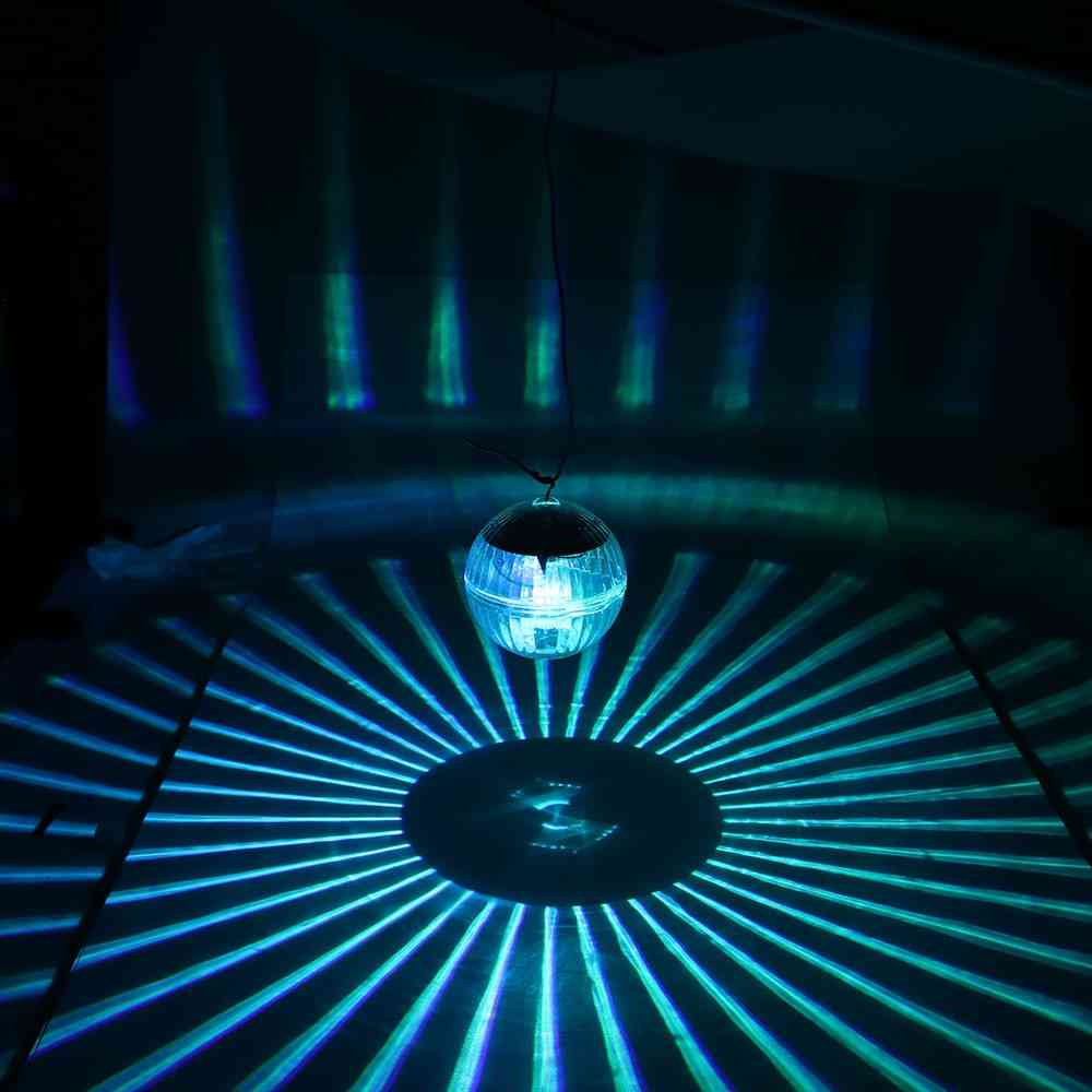 Floating -underwater Ball Lamp -solar Powered And Color Changing
