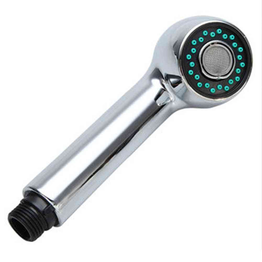 Replacement Chrome Tap Pullout Spray Shower Head, Faucet Sink