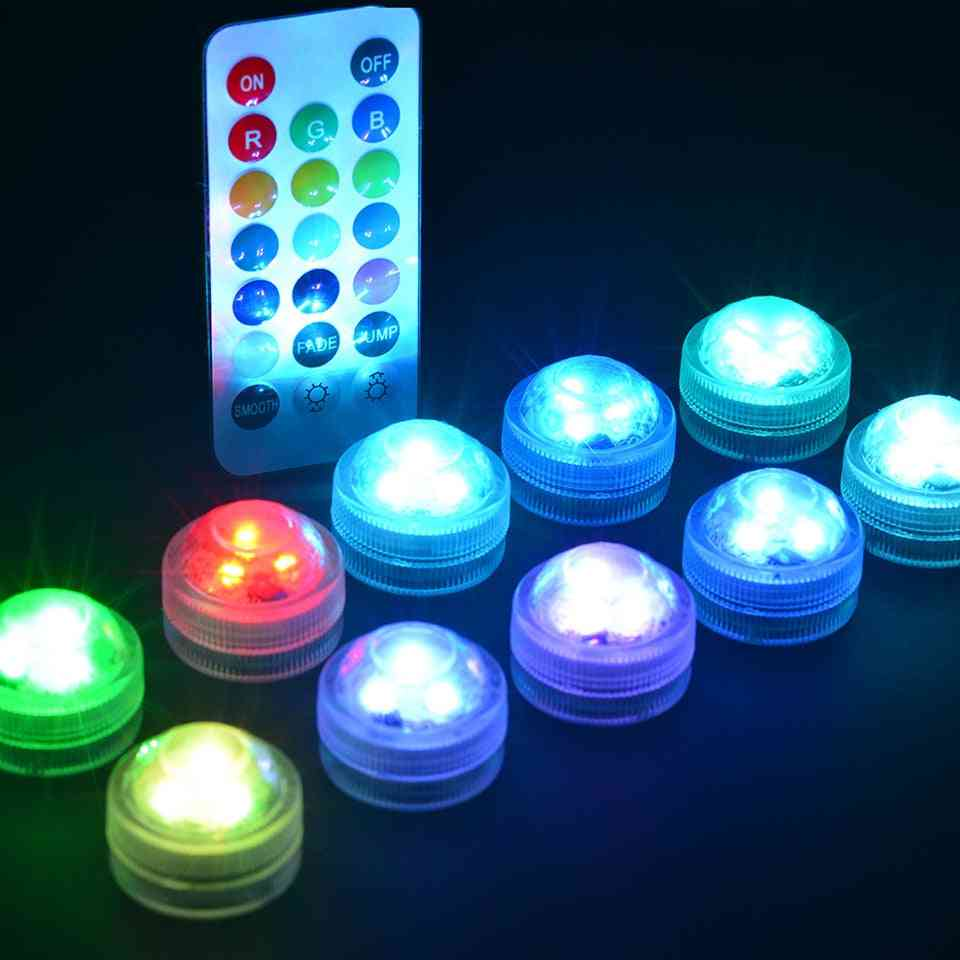 Amazing Led Lights, Waterproof Rgb Underwater Lamp