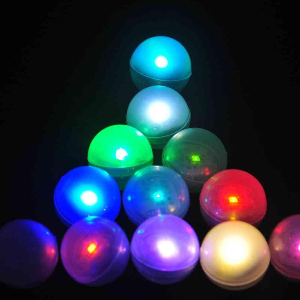 Ip68 Waterproof Led Floating Ball For Underwater- Vase Light