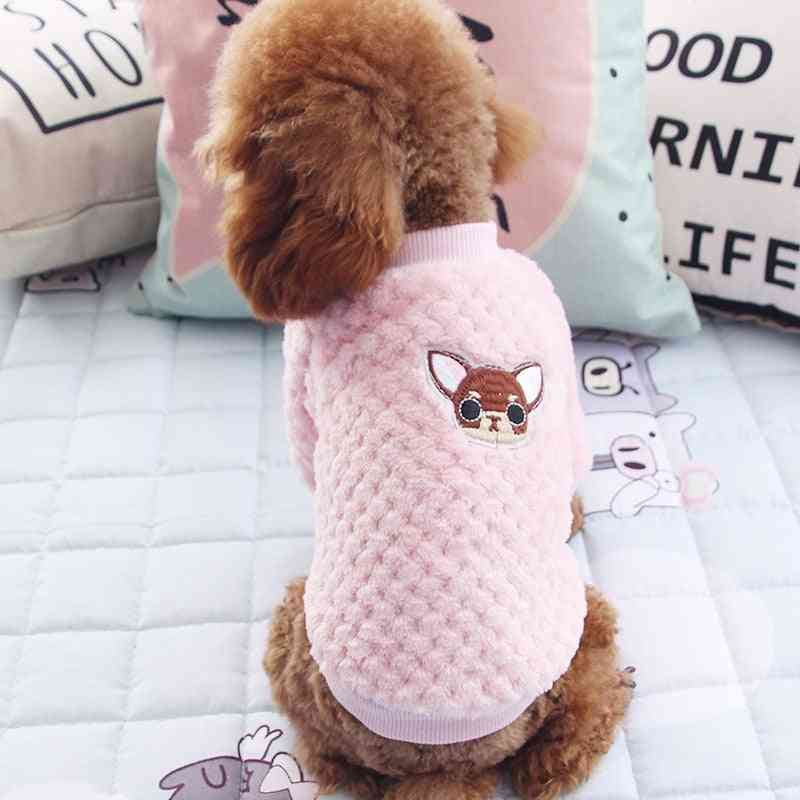 Dog Hoodie Pet Dog Winter Clothes For Dogs - Coat Jacket From Cotton
