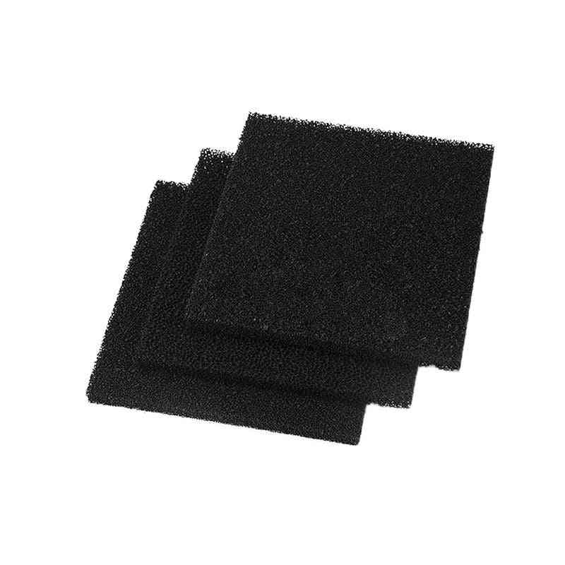 10pcs High Density Activated Carbon Foam Filter For Air Filtration Tool