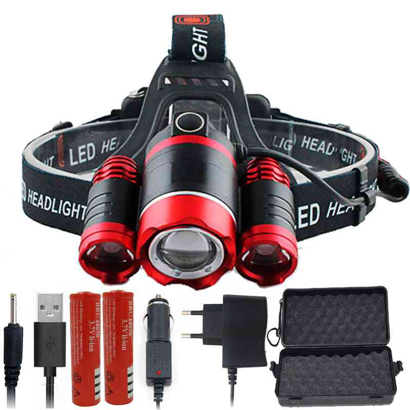 Led Headlamp - High Power Bright Headlight Torch