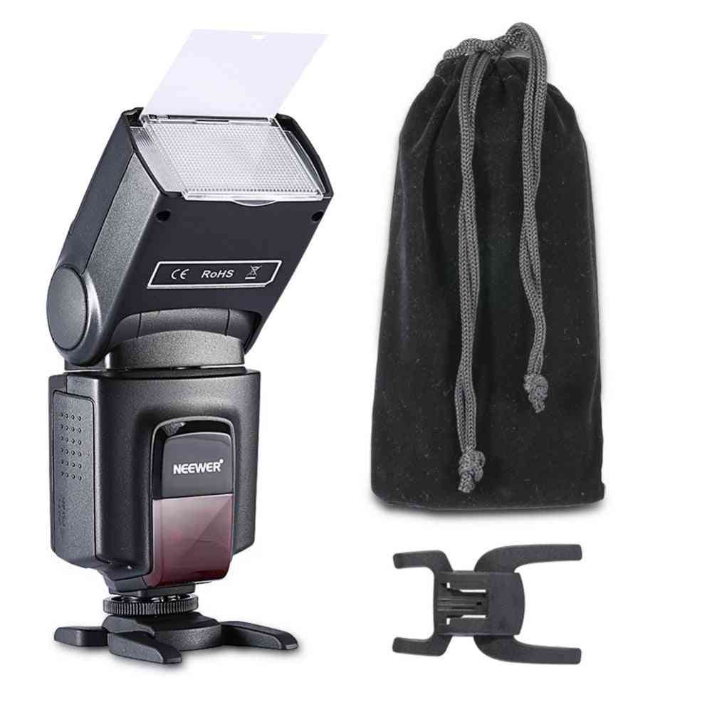 Flash Speed Lite For All Cameras With Standard Shoe And Softbox