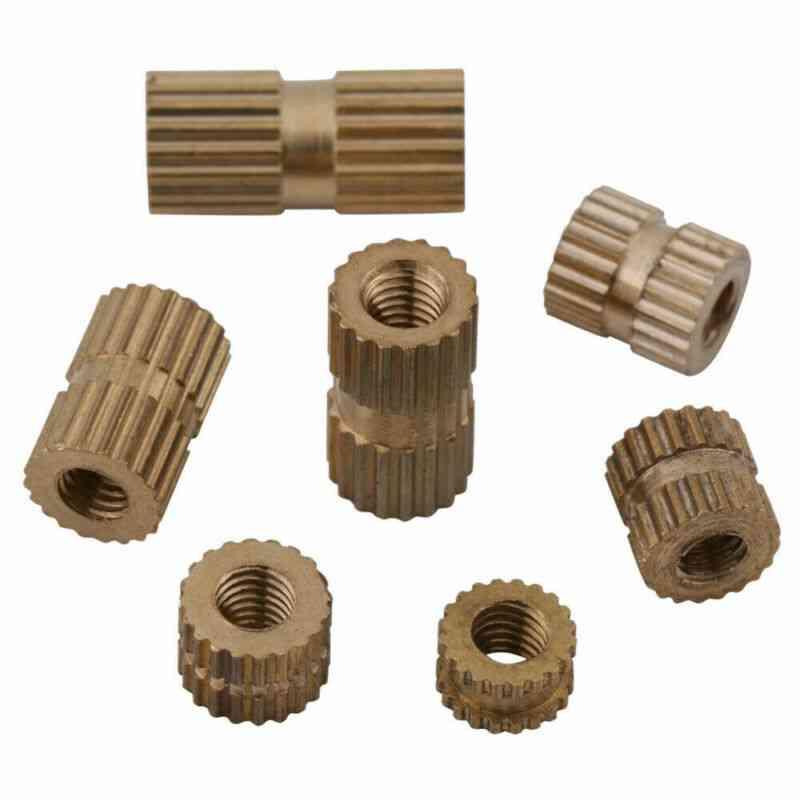 150pcs/set M3 Brass Knurl Insert Nuts- Metric Threaded