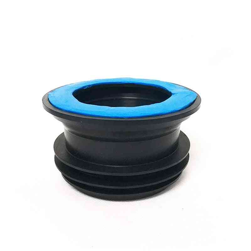 Toilet Seat Sealing Ring Flange Thickened Deodorant Extended Flanges Accessories Rubber Sticky