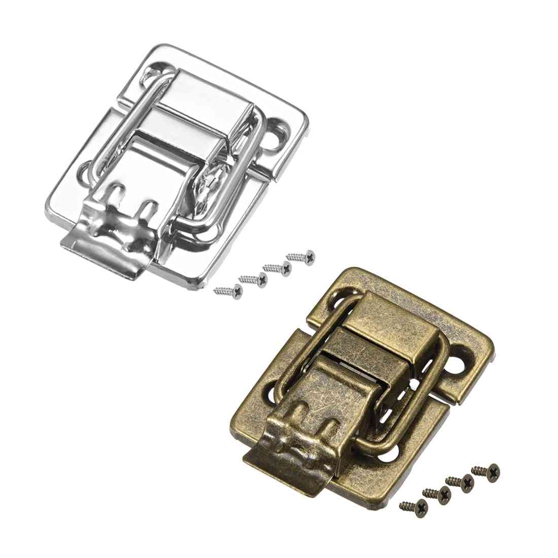 Small Size Suitcase Hasp Metal Catch Latch With Screws Durable