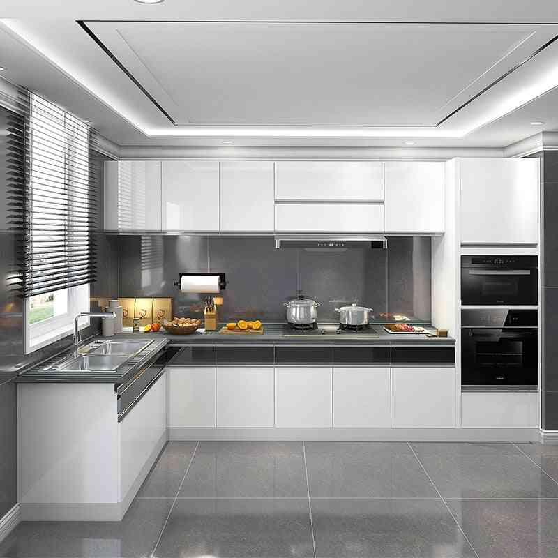 Quartz Stone Solid Wood Particle Board For Kitchen
