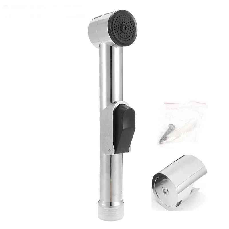 Abs Sprayer Handheld Bathroom / Toilet Bidet With Holder Shattaf Spray