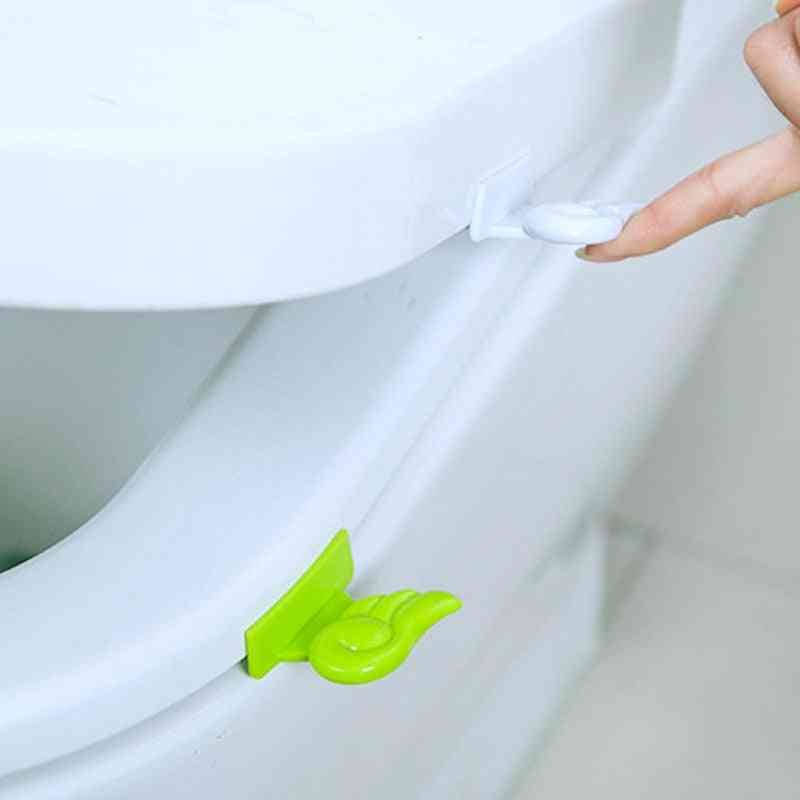 Not Dirty Portable Lid Toilet Seat Angel Wing Lift, Toilet Seat Accessories, Toilet Seat Lifter