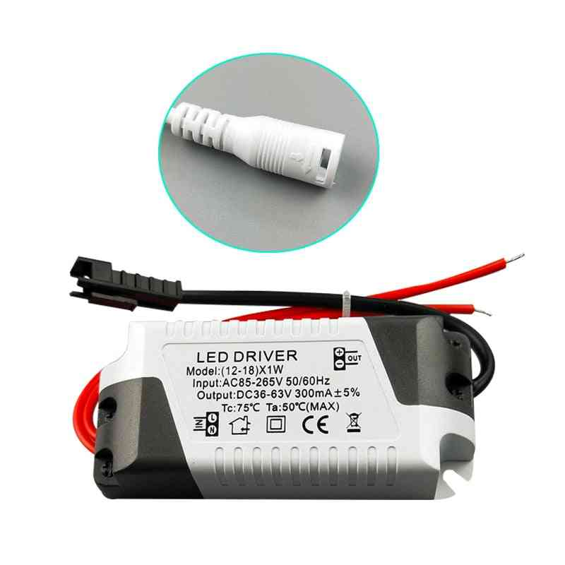 3w-36w Led Driver Light Transformer Power Supply Adapter For Led Lamp