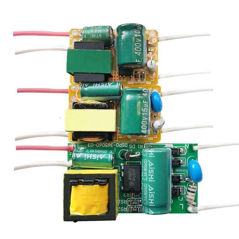 8w/18w/25w/36w/50w 300ma Led Driver 60w/80w 600ma, Constant Current Light Transformer Ac175-265v Power Adapter For Led Bulb Diy