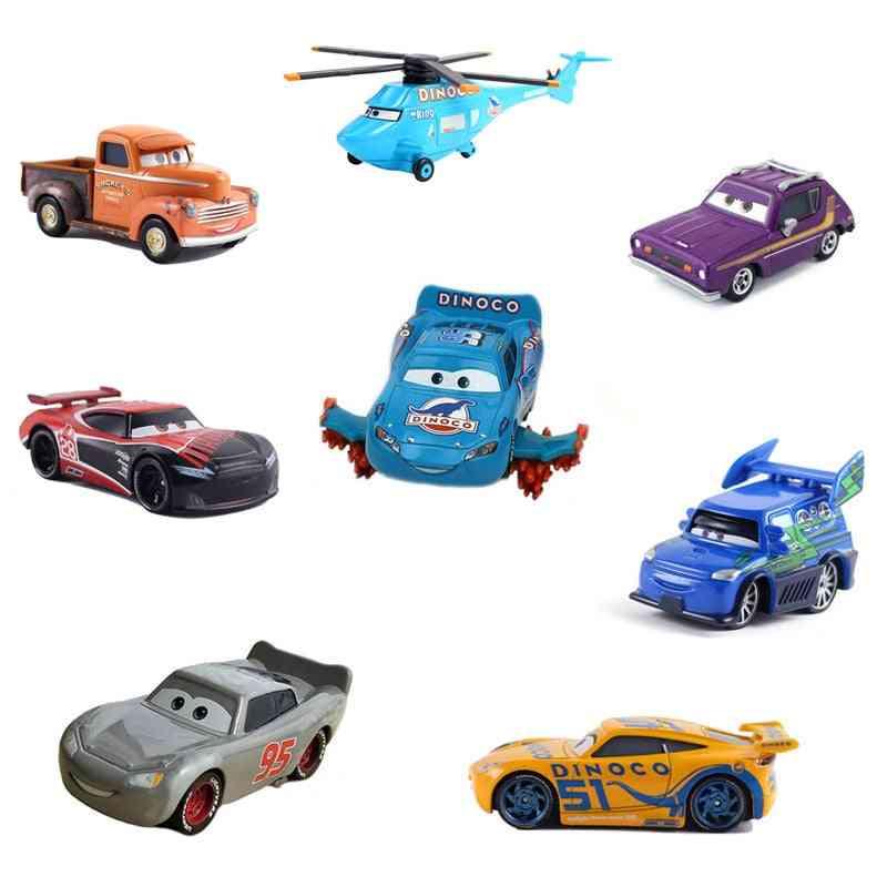 Disney Pixar 38 Style Cars - Lightning  Metal Car Toy