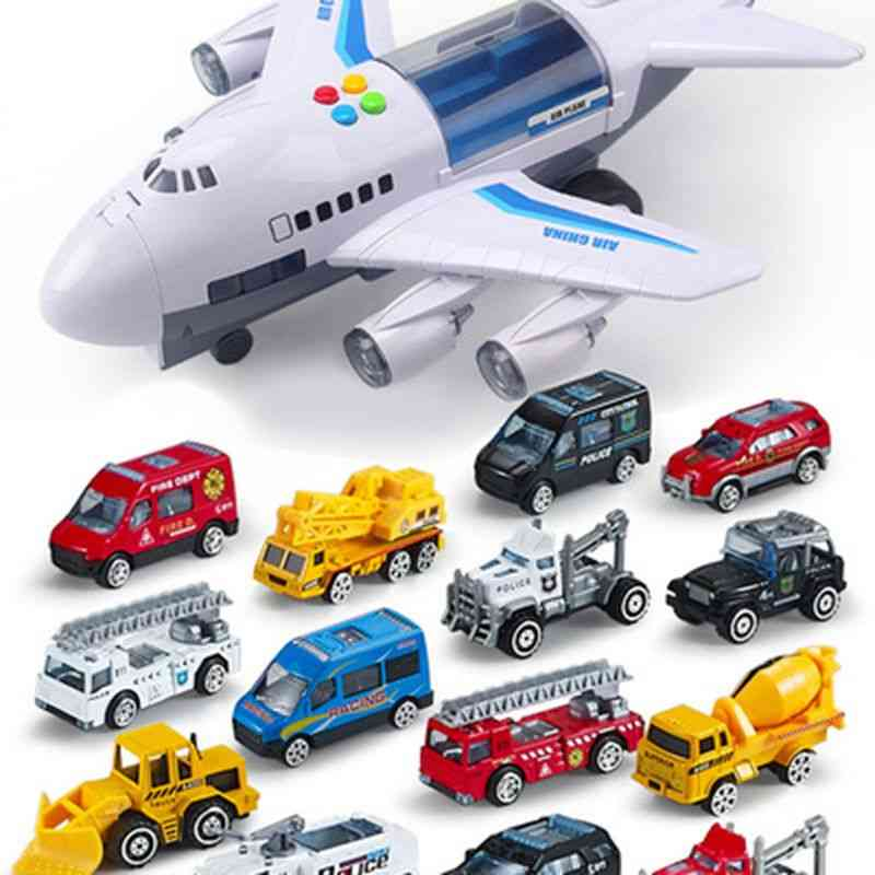 Aircraft Music Story, Simulation Track - Large Size Passenger Plane Toy